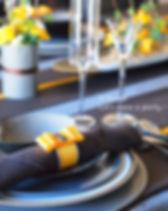 テオブロマのテーブルコーディネート