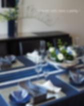 テーブルコーディネート・輝く海テーブルウェアフェスティバル最優秀賞