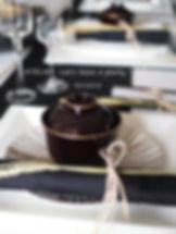 秋納のテーブルコーディネート