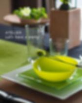 テーブルコーディネート・サンタフェの緑テーブルウェアフェスティバル大賞