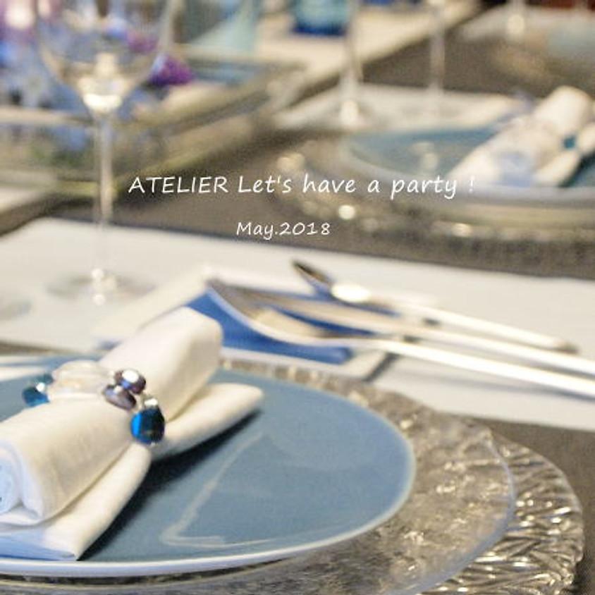 5月のテーブルコーディネート&おもてなし料理レッスン
