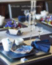 テーブルコーディネート・若水のおもてなし