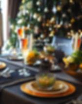 クリスマスのテーブルコーディネート2016