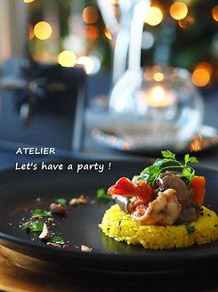 クリスマス2015のテーブルコーディネート&おもてなし料理