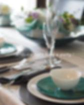 テーブルコーディネート・ミュゲのスプリングテーブル