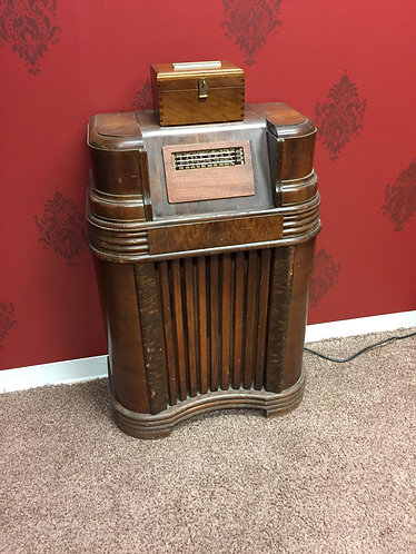 Proximity Sensor built into old radio