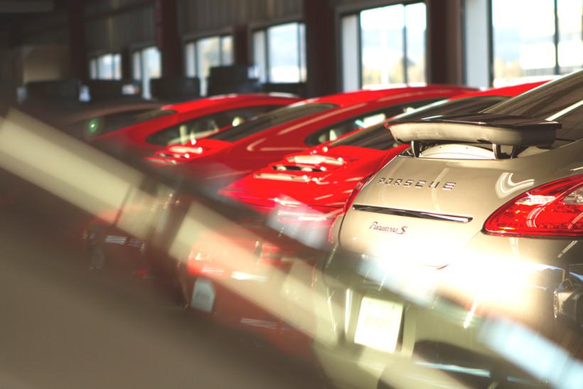 Porsche's in waiting