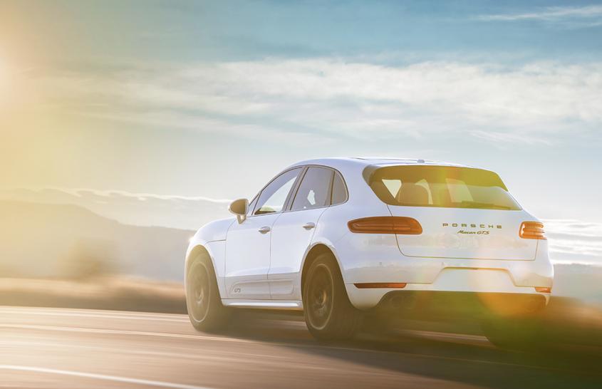 Porsche Sunset