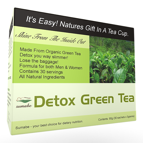 Detox Green Tea 30's - 90 grams