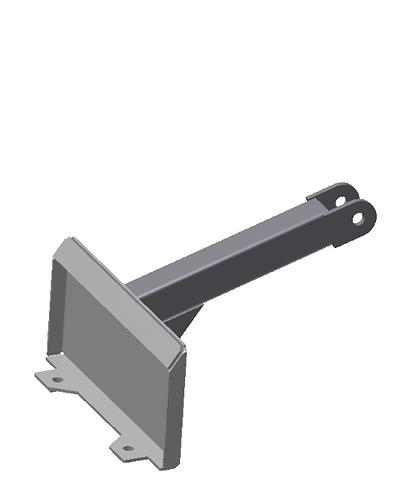 RayMak Standard Quick Attach - Double Pivot - Mini Unit Mount