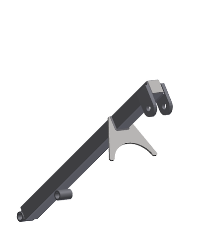 RayMak Extension High Reach Mount for Bell Type Auger Drive