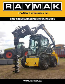 2018 RAYMAK SKID STEER ATTACHMENT CATALO