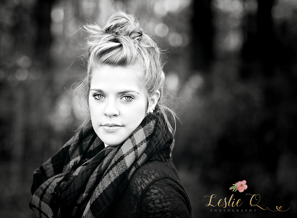 senior portraits, Leslie Q Photography