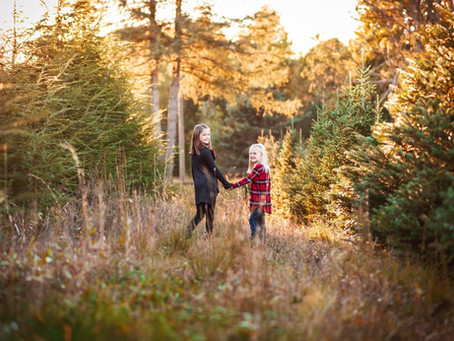 What to Wear for Winter Family Portraits