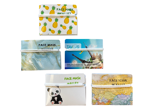 Face Mask Wallet (pack of 4)