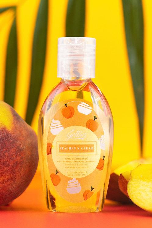 Peaches & Cream Scented Hand Sanitizer (50 mL)