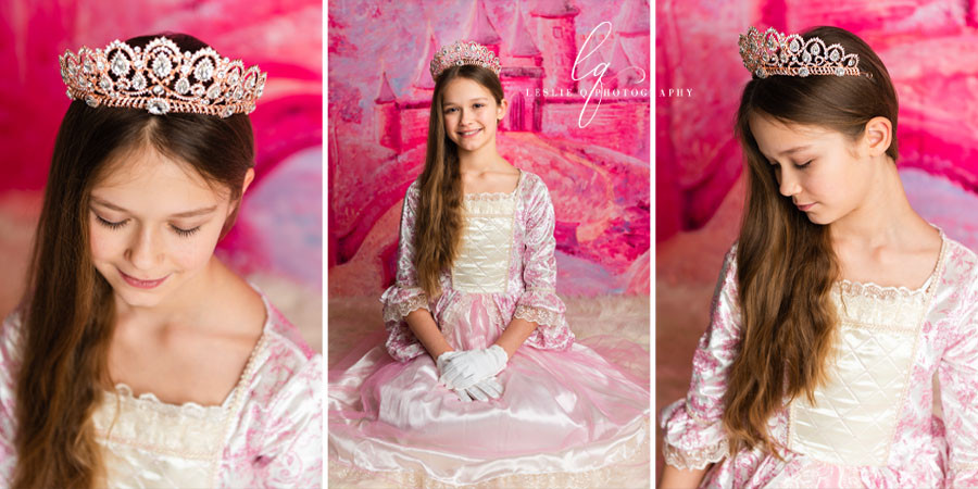 pink backdrop, castle backdrop, fairytale, princess photoshoot, prince photoshoot, magic, prince, princess, crown, castle, studio photography, senior photography, milestone session, milestone, cakesmash, children photography, portraits, tween model, tween photography, baby photography