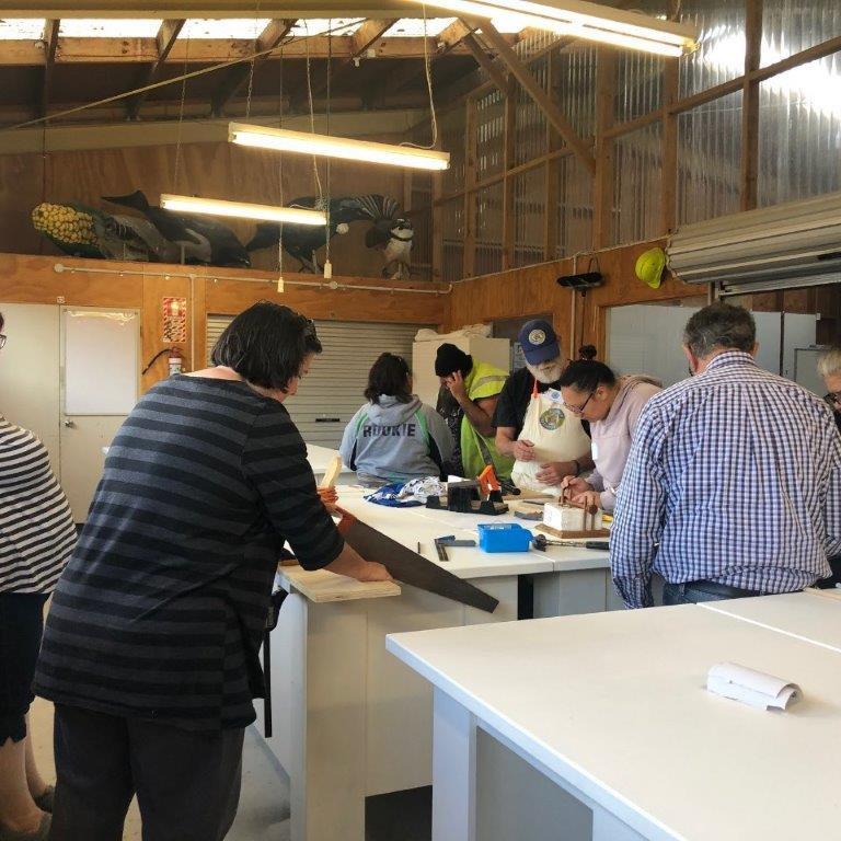 Beginners Woodwork Class
