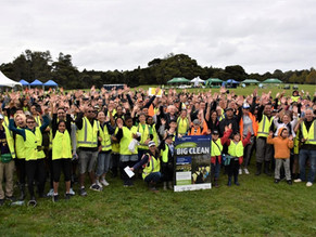 Hundreds of volunteers clean up South Auckland's waterways
