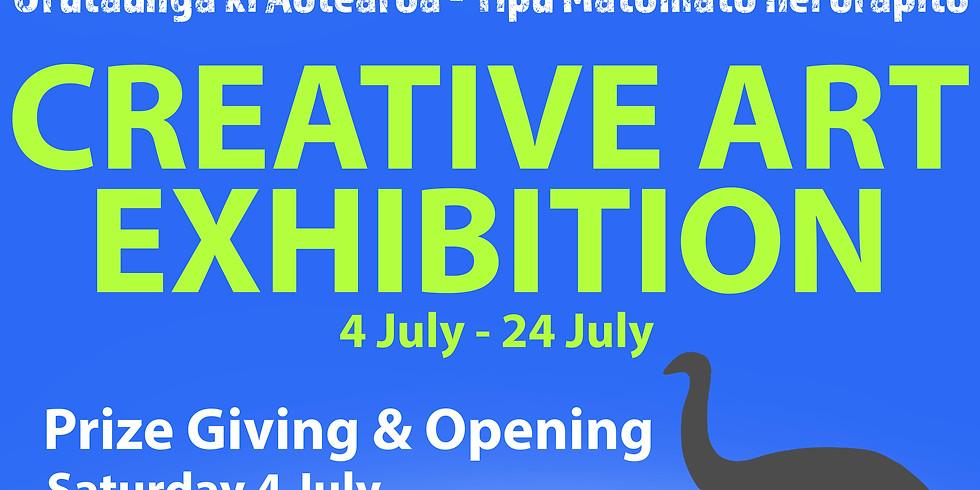 Eye on Nature Creative Art Exhibition Opening