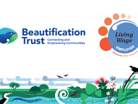 Beautification Trust becomes an Accredited Living Wage Employer
