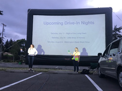 Drive In Movie Shoreline Behind the Scenes