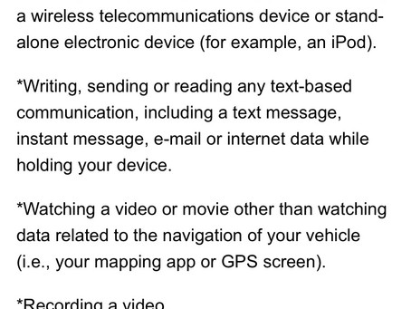 Drive Fit or Get Ticketed for Holding Your Phone in the Car