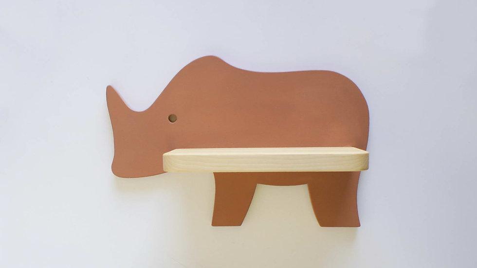 Полочка Носорог