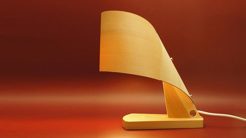 Лампа шпоновая