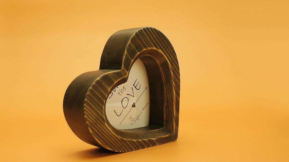Фоторамка Сердце