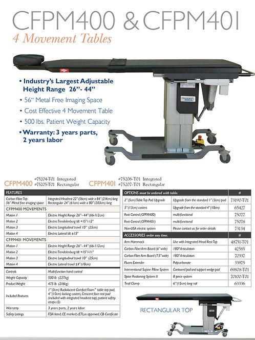 Oakworks CFPM 400  4-Motion Surgical C-Arm Table