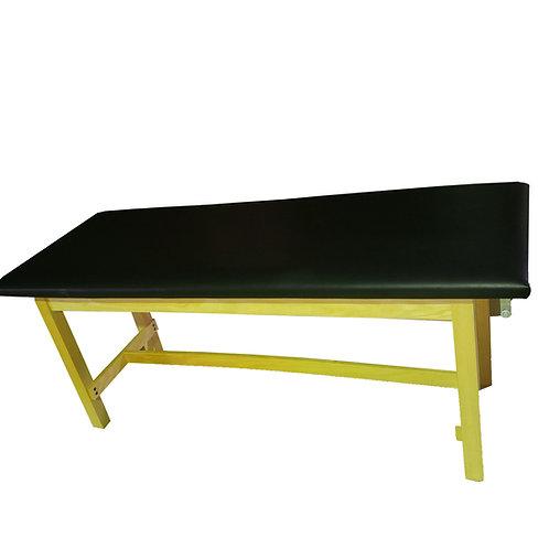 Clinton  Classic Series Flat Top Treatment Table (Black Pad)