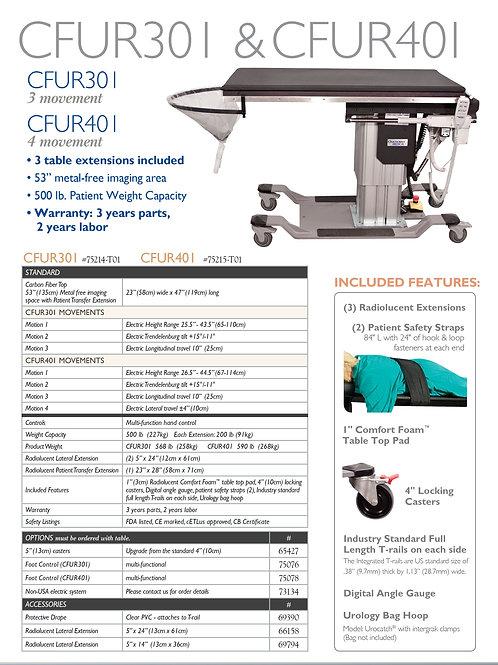 Oakworks CFUR401 4 Motion Urology Table