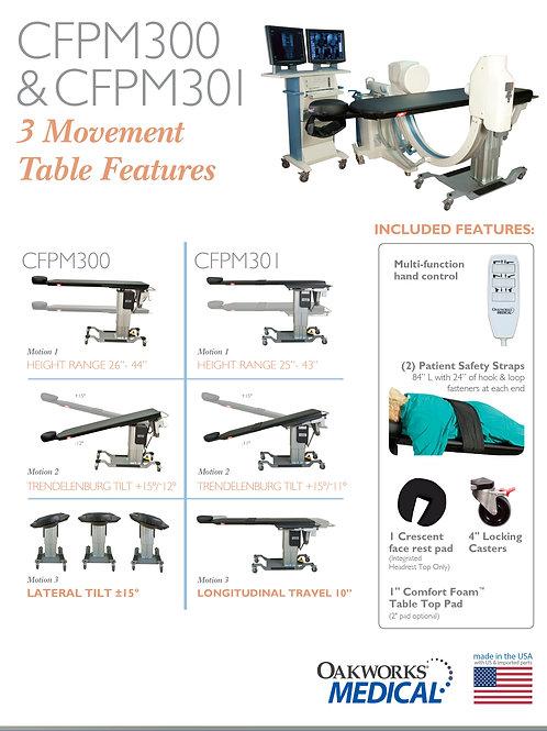Oakworks CFPM301 3-Motion Surgical Table