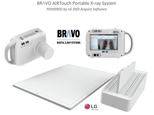 Bravo AIRTouch Portable X-ray system with DR