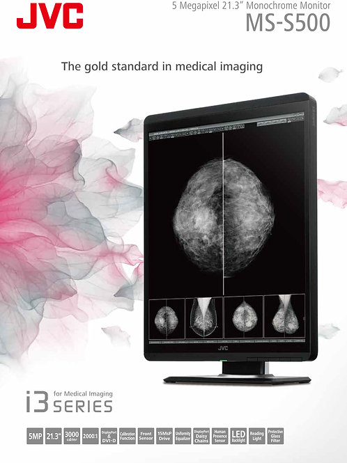 JVC MS-S500 Monochrome 5MP (21.3 inch) Mammo PACS Diagnostic Radiology Monitor