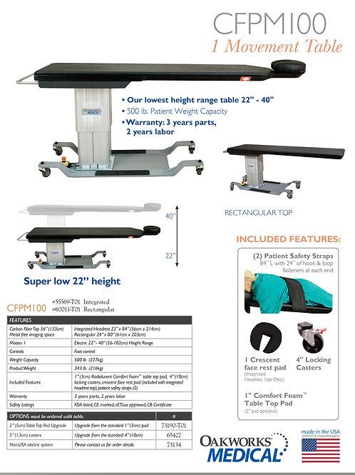 Oakworks CFPM 100  3-Motion C_arm Table