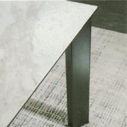 Dining Table DT-1037-TR 爵士白陶瓷玻璃 D3