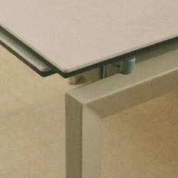 Dining Table DT-3703L-TR 乳白陶瓷玻璃 D2