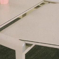 Dining Table DT-3386-TR 乳白陶瓷玻璃 D3
