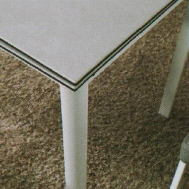 Dining Table DT-6830-GW-TR 水泥灰陶瓷玻璃 D3
