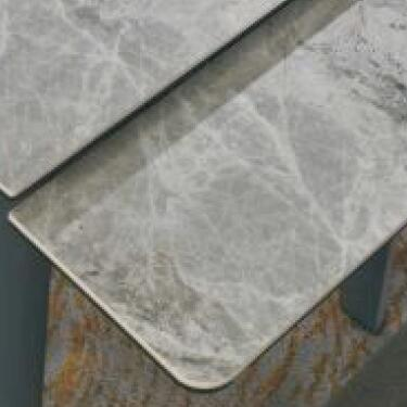 A819-CT 意大利淺灰陶瓷玻璃枱 D2