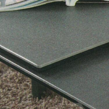 Dining Table DT-3703L-02-TR 鉛色陶瓷玻璃 D1