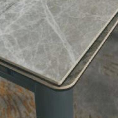 A819-CT 意大利淺灰陶瓷玻璃枱 D1