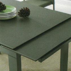 Dining Table DT-1051-TR 鉛色陶瓷玻璃 D2