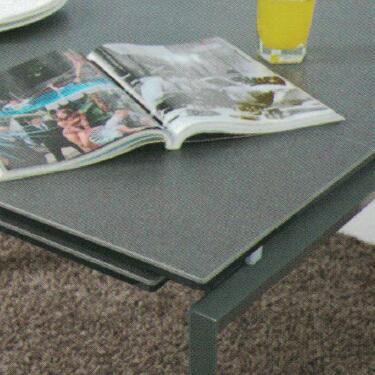 Dining Table DT-3703L-02-TR 鉛色陶瓷玻璃 D3