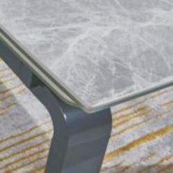 A613-CT 意大利淺灰陶瓷玻璃枱 D1