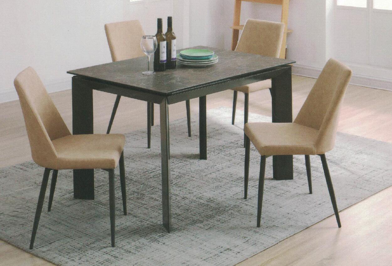 Dining Table DT-1025-TR 意大利陶瓷玻璃 C