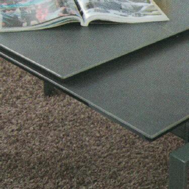 Dining Table DT-3703L-02-TR 鉛色陶瓷玻璃 D2