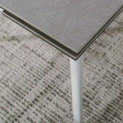 Dining Table DT-6810-TR 水泥灰陶瓷玻璃 D3